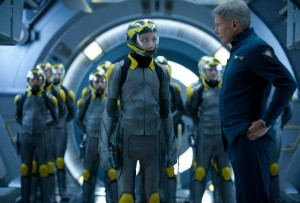 """Asa Butterfield (left) and Harrison Ford's (right) performance make """"Enders Game"""" believable with intergalactic warfare. Photo by endersgamemovie.com"""